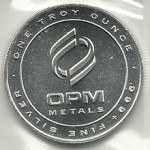 OPM 1 Ounce Generic Silver Round