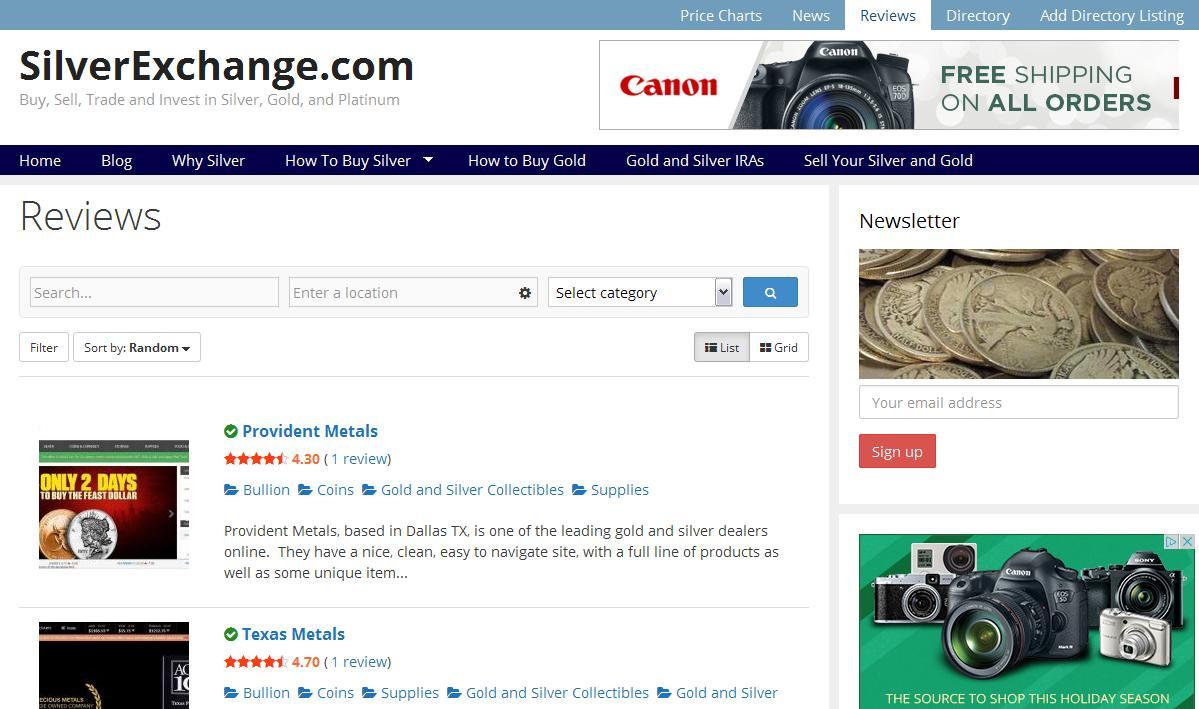 review screen shot